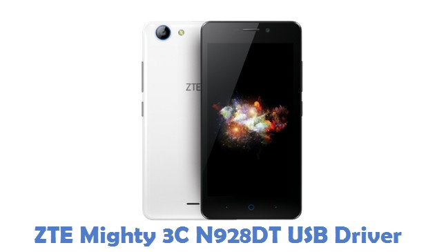 ZTE Mighty 3C N928DT USB Driver