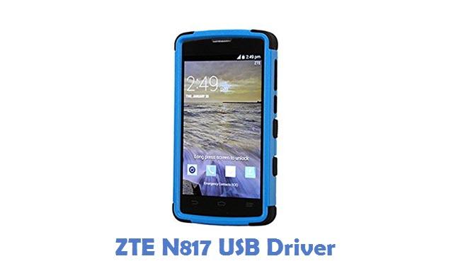 ZTE N817 USB Driver