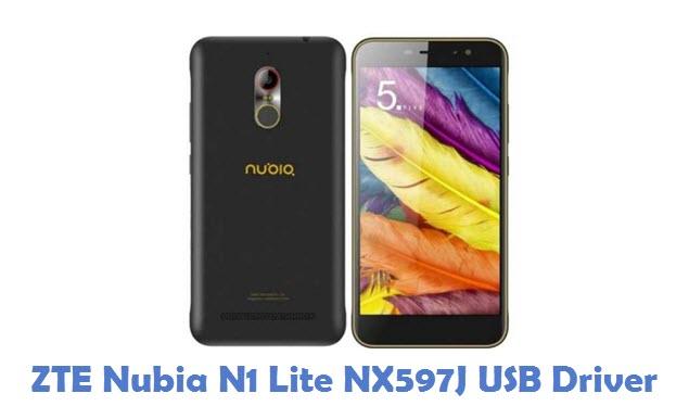 ZTE Nubia N1 Lite NX597J USB Driver