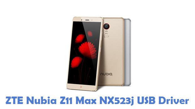 ZTE Nubia Z11 Max NX523j USB Driver