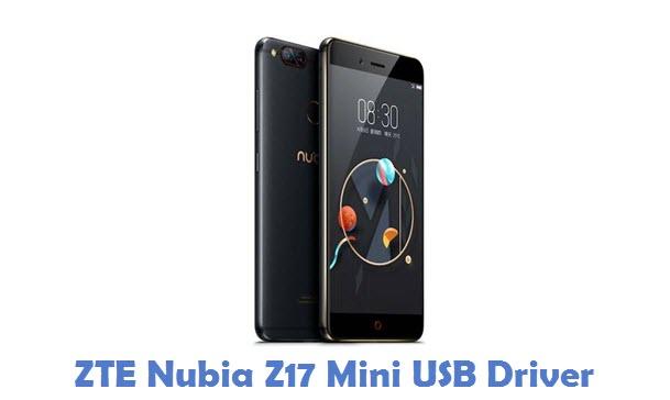 ZTE Nubia Z17 Mini USB Driver