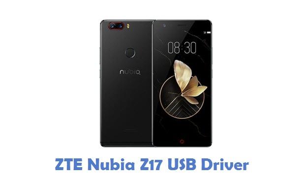 ZTE Nubia Z17 USB Driver