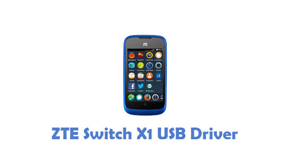ZTE Switch X1 USB Driver