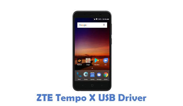 ZTE Tempo X USB Driver