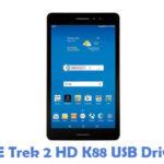 ZTE Trek 2 HD K88 USB Driver