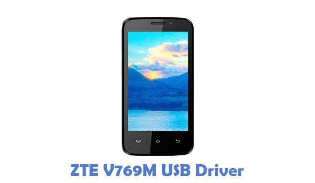 ZTE V769M USB Driver