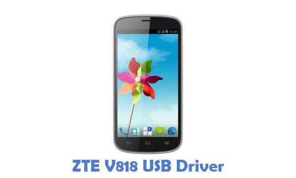 ZTE V818 USB Driver
