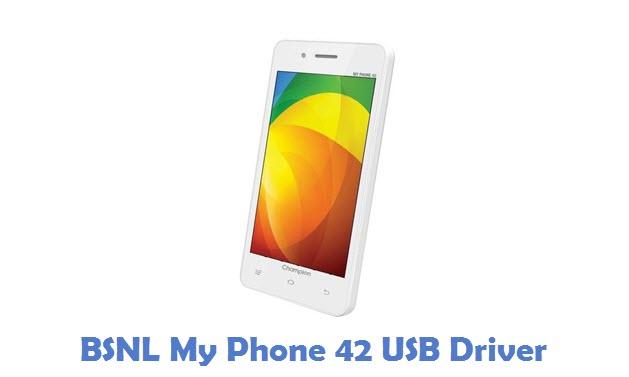 BSNL My Phone 42 USB Driver