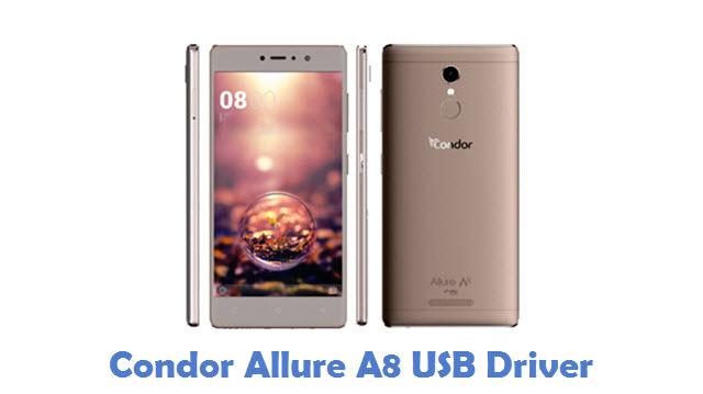 Condor Allure A8 USB Driver