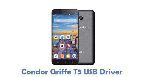 Condor Griffe T3 USB Driver