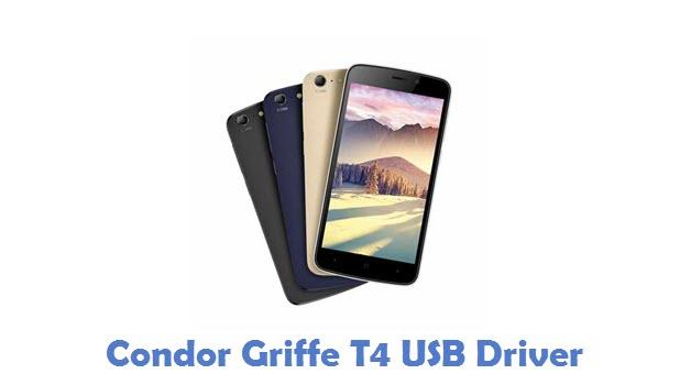 Condor Griffe T4 USB Driver
