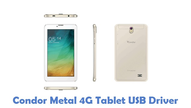 Condor Metal 4G Tablet USB Driver