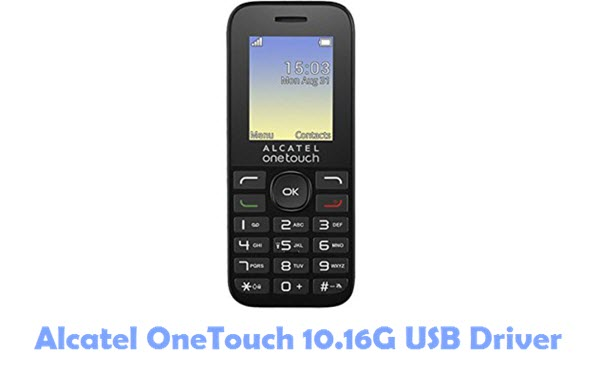 Download Alcatel OneTouch 10.16G USB Driver