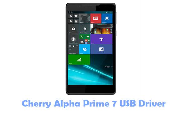 Cherry Alpha Prime 7 USB Driver