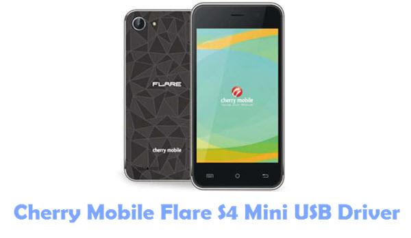 Cherry Mobile Flare S4 Mini USB Driver