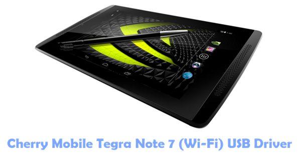 Cherry Mobile Tegra Note 7 (Wi-Fi) USB Driver