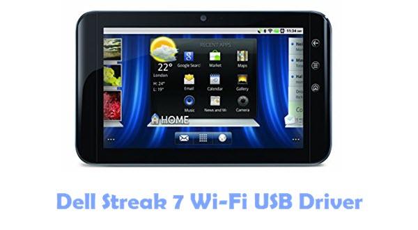 Download Dell Streak 7 Wi-Fi USB Driver