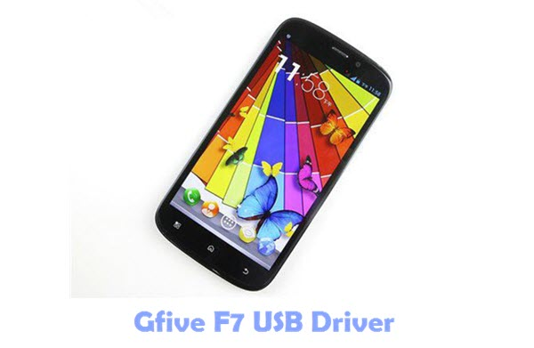 Gfive F7 USB Driver