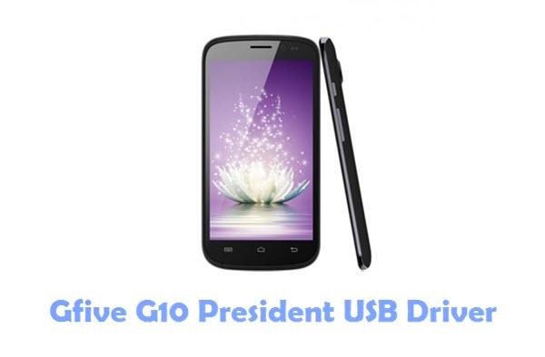 Gfive G10 President USB Driver