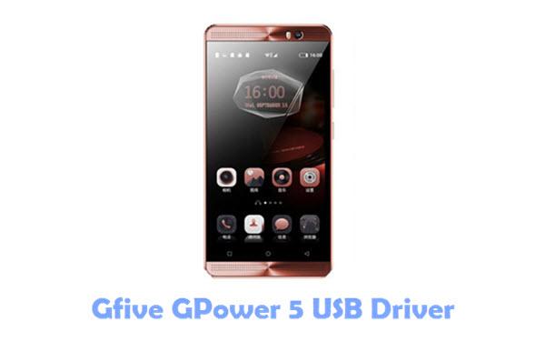 Gfive GPower 5 USB Driver