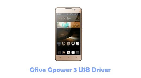 Gfive Gpower 3 USB Driver