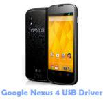 Download Google Nexus 4 USB Driver
