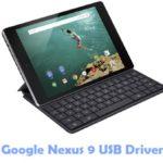 Google Nexus 9 USB Driver