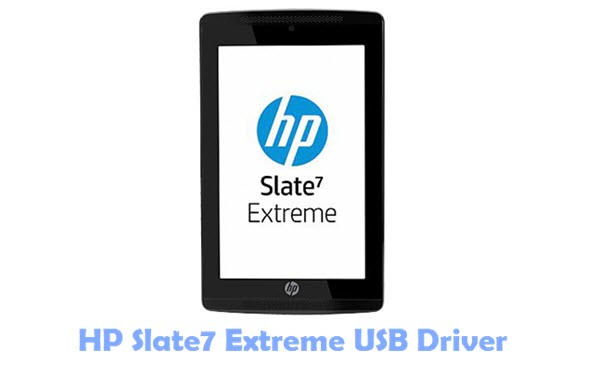 Download HP Slate7 Extreme USB Driver