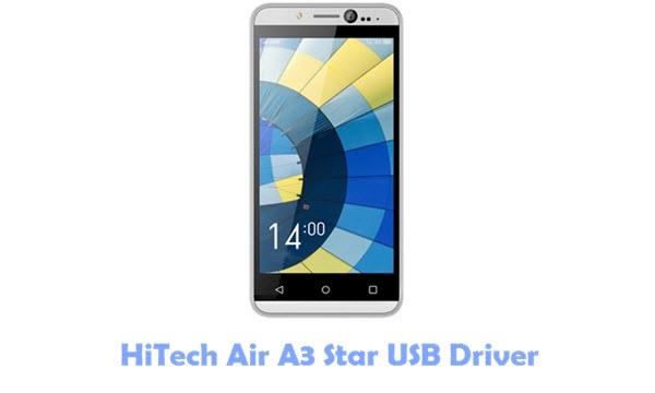 HiTech Air A3 Star USB Driver