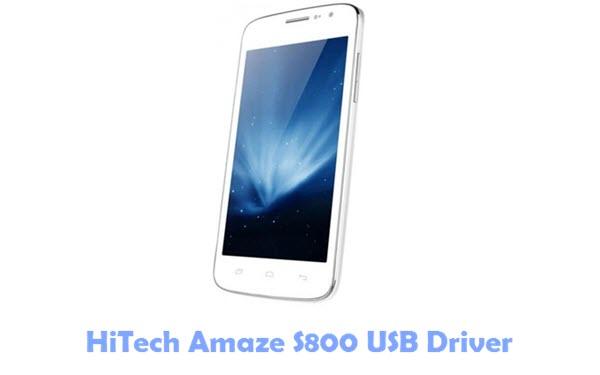 Download HiTech Amaze S800 USB Driver