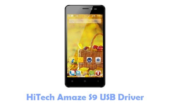 HiTech Amaze S9 USB Driver
