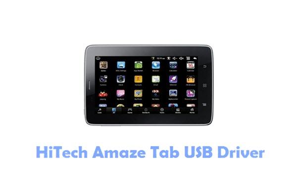 HiTech Amaze Tab USB Driver