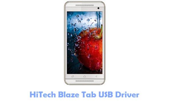 HiTech Blaze Tab USB Driver