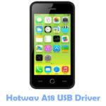 Download Hotwav A18 USB Driver