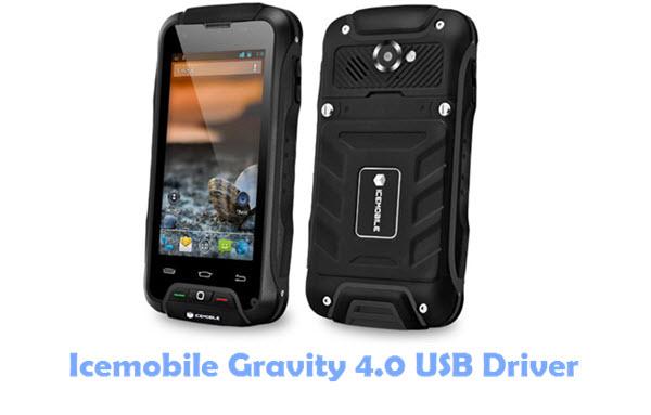 Icemobile Gravity 4.0 USB Driver