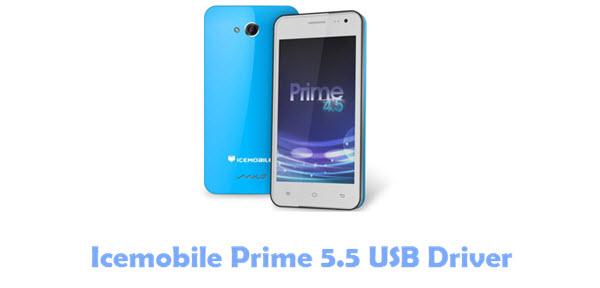 Icemobile Prime 5.5 USB Driver