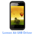 Download Lemon A3 USB Driver
