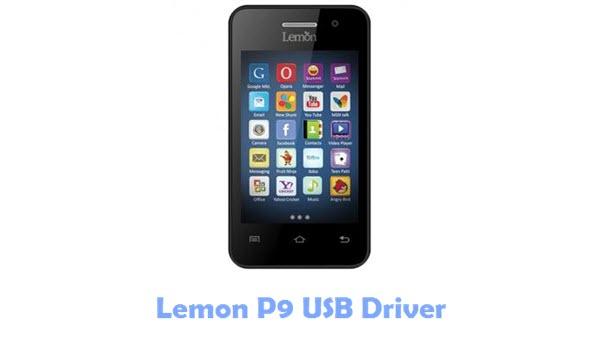 Lemon P9 USB Driver