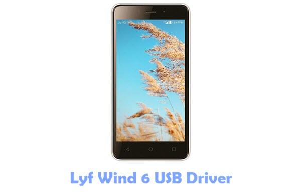 Lyf Wind 6 USB Driver