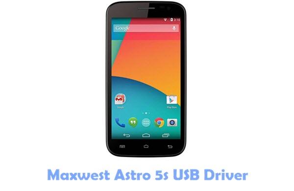 Maxwest Astro 5s USB Driver