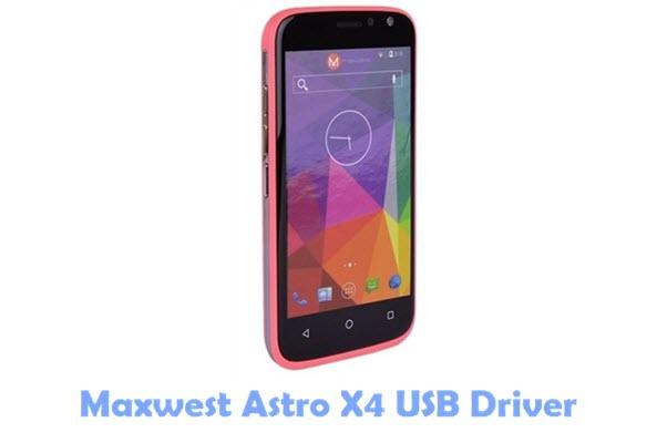 Maxwest Astro X4 USB Driver
