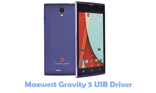 Download Maxwest Gravity 5 USB Driver