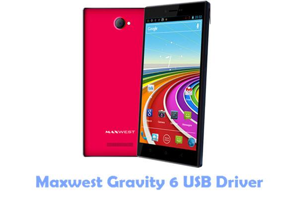 Download Maxwest Gravity 6 USB Driver