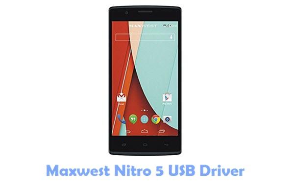 Download Maxwest Nitro 5 USB Driver