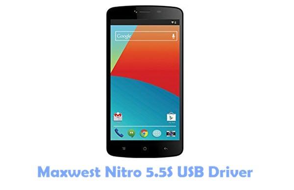 Download Maxwest Nitro 5.5S USB Driver