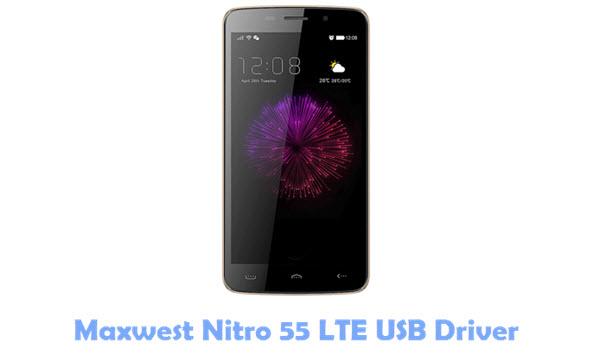 Maxwest Nitro 55 LTE USB Driver