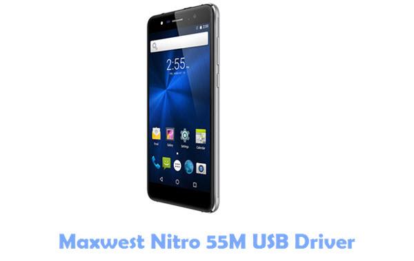 Maxwest Nitro 55M USB Driver