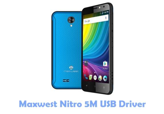 Download Maxwest Nitro 5M USB Driver