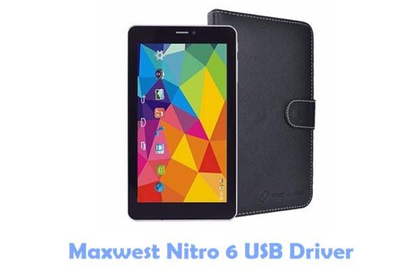 Download Maxwest Nitro 6 USB Driver