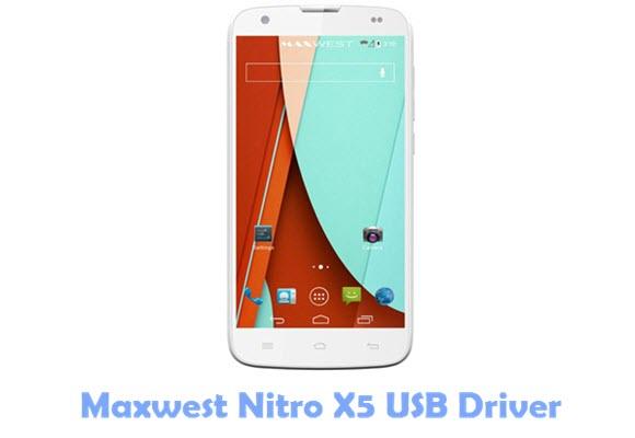 Download Maxwest Nitro X5 USB Driver